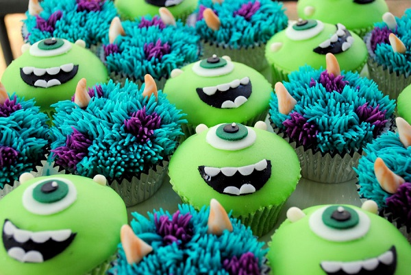 Many Monster Cupcakes, on Bluprint