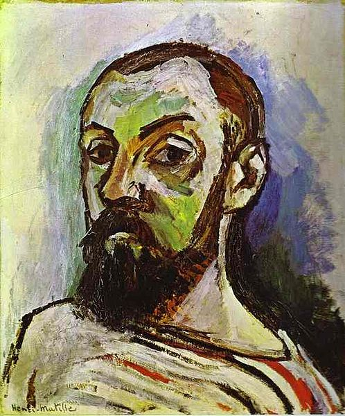 Henri Matisse. Self-Portrait in a Striped T-shirt (1906).