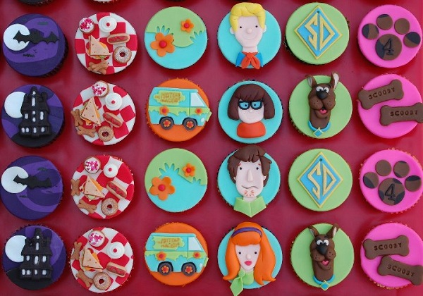 Scooby Doo Themed Cupcakes