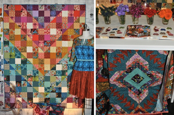 Anna Maria Horner: Dowry Booth at International Quilt Market 2013