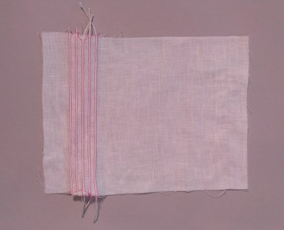 Corded Pintucks in Fabric