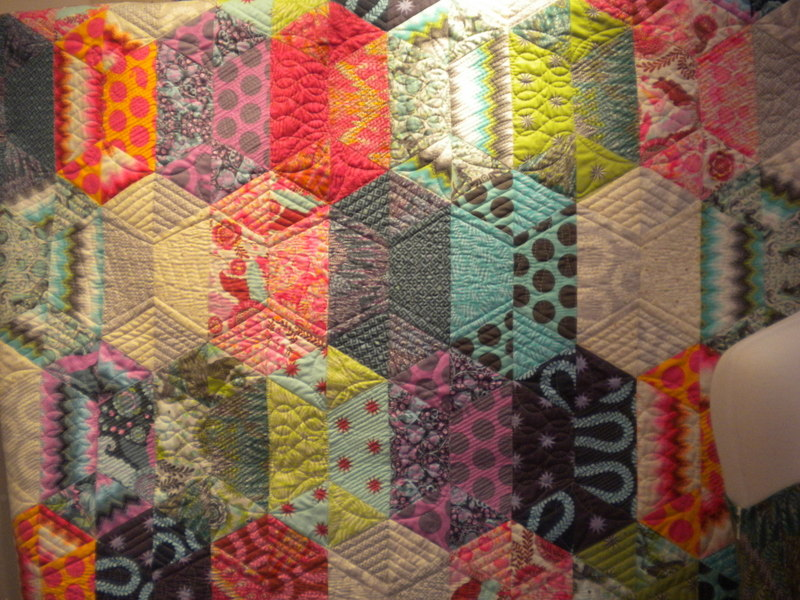 Tula Pink's Colorful Fox Field Quilt