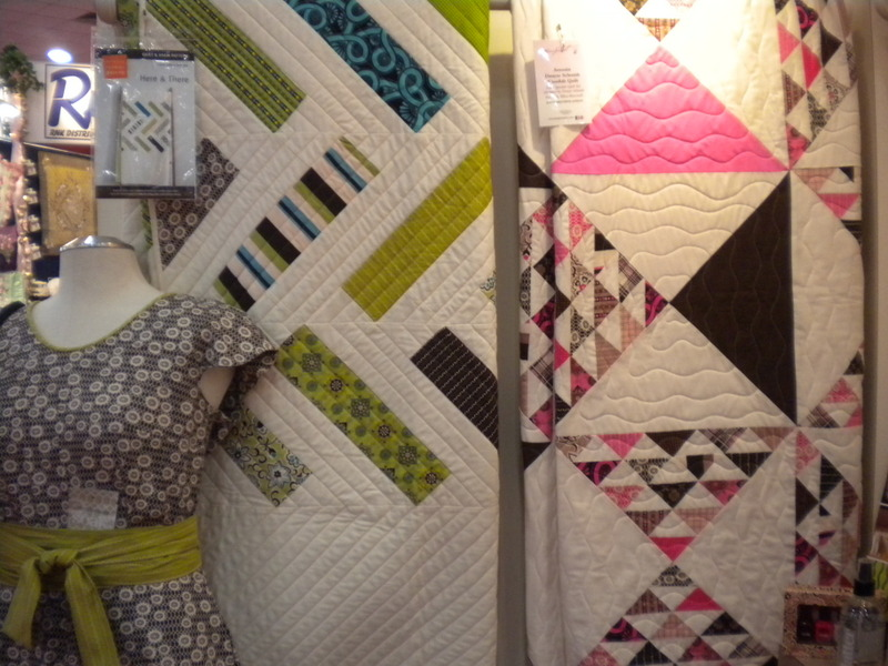 Quilts at the Quilting Convention at the International Quilt Market Fall 2013