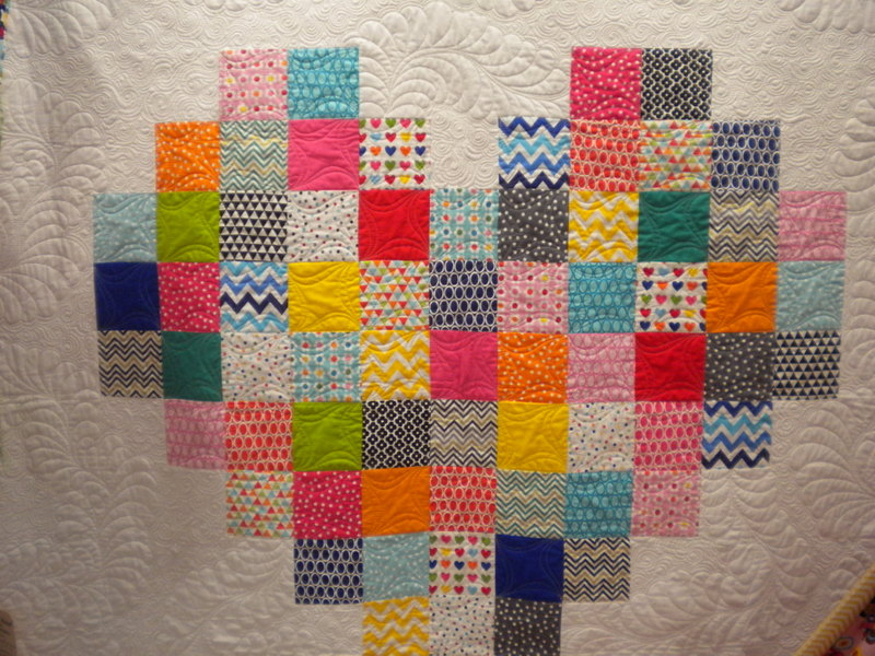 Patchwork Quilt at the International Quilt Market Fall 2013