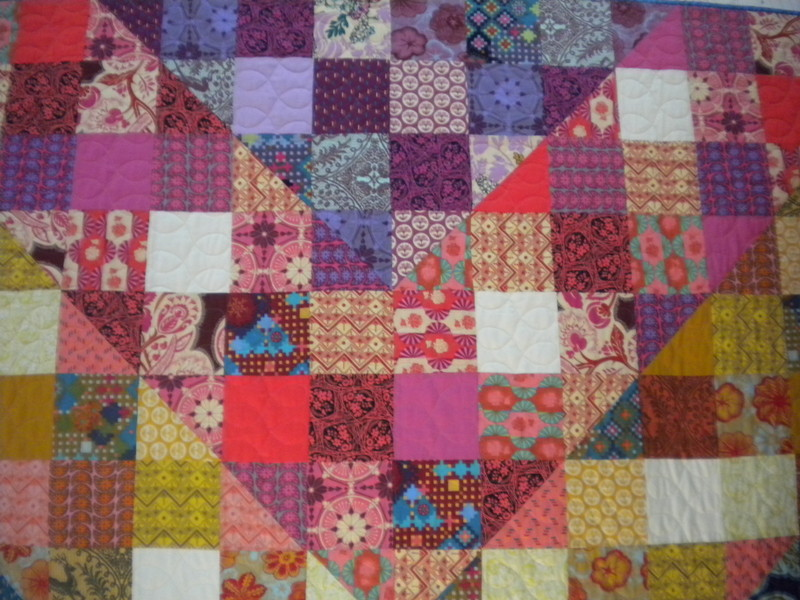 Patchwork Quilt at the Quilt Market in Houston 2013