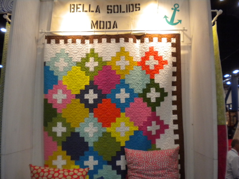Bold-Patterned and Colored Quilt