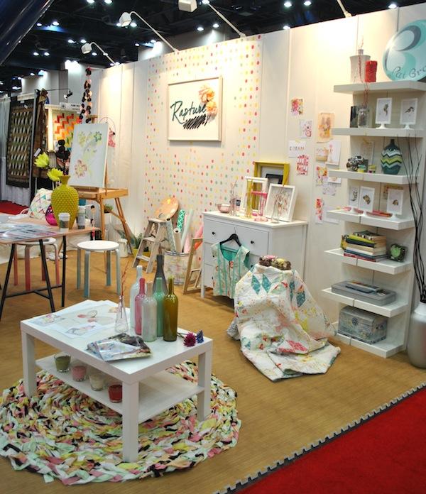 Rapture Booth: International Quilt Market