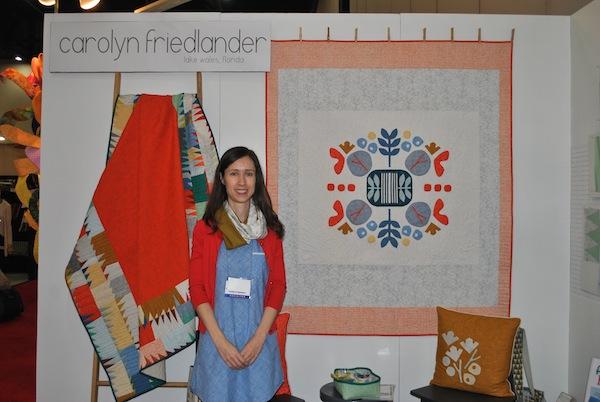 Carolyn Friedlander: Botanics Booth