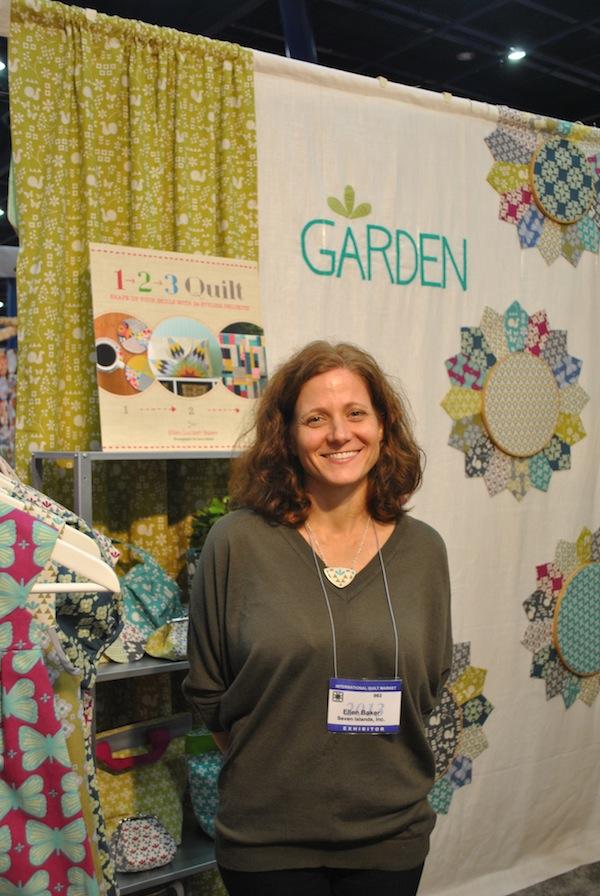 Garden Booth, International Quilt Market 2013