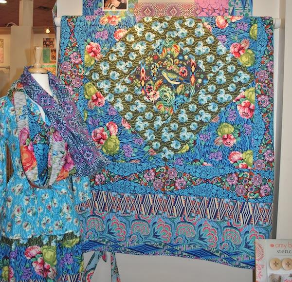 Gorgeous Quilt at International Quilt Market 2013