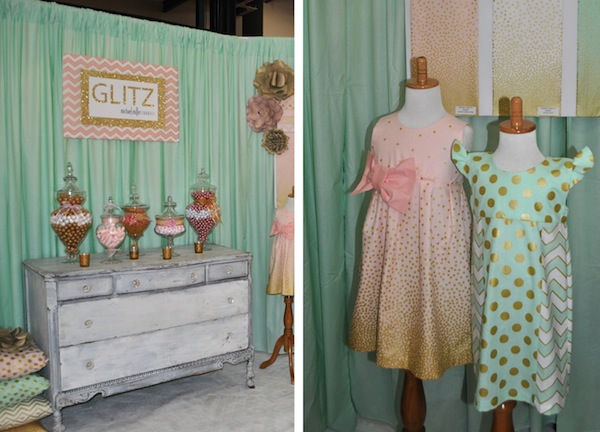 Glitz Booth, International Quilt Market in Houston, 2013