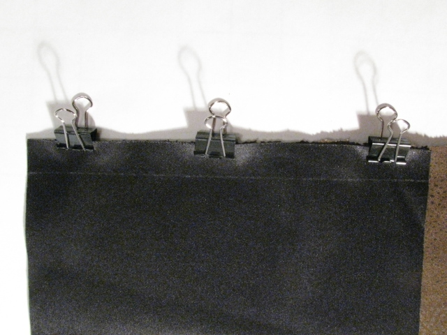 Leather Hanging by Clips