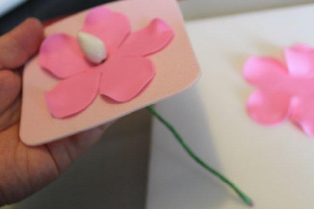 Gum Paste Flower on Mat