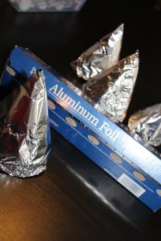 aluminium foil cones