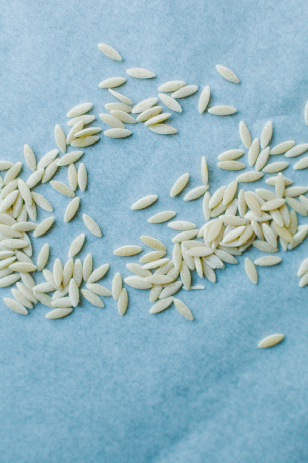 Orzo Pasta, Pasta Shapes and Types on Bluprint