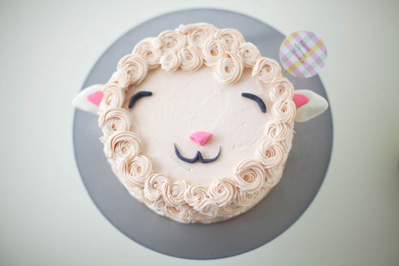 Happy Lamb Cake - on Bluprint