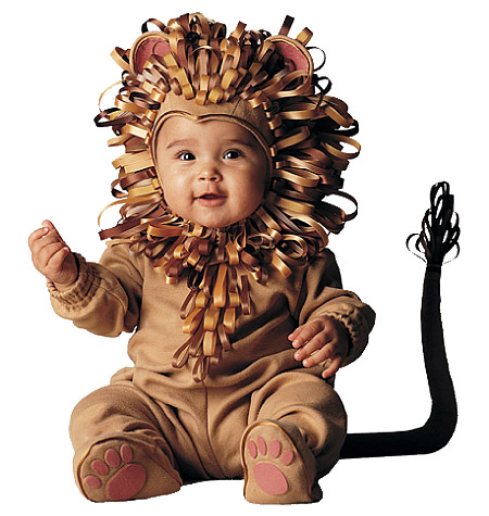 McCalls Lion costume for toddler