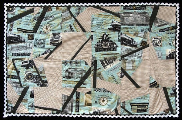 Creative Free-form Quilt
