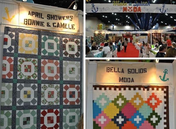 Various Booths at International Quilt Market 2013