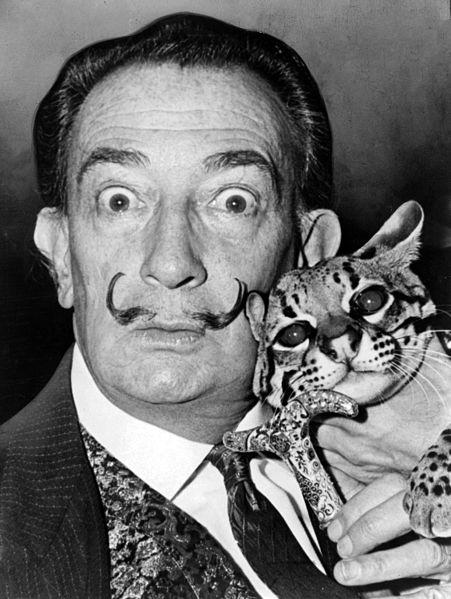 Salvador Dali with Lynx