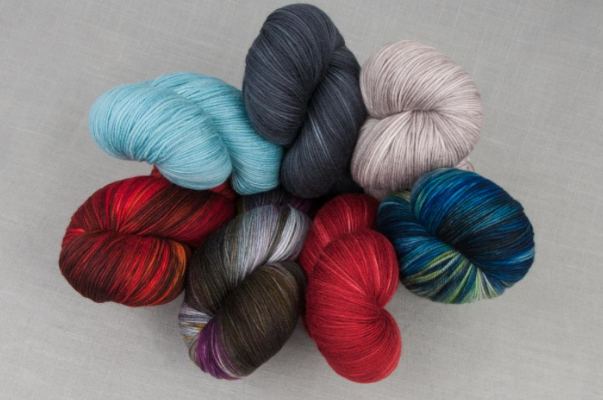 Various Colors of Yowza Yarn