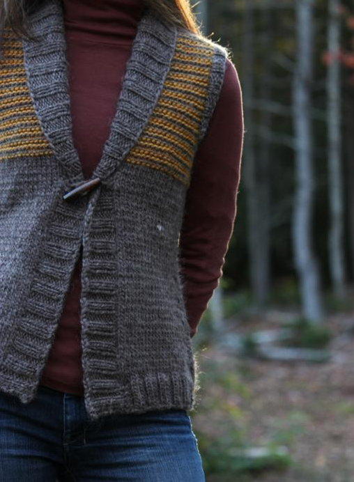 Freeport Vest with Toggle Button