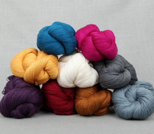 Lace Yarn in Various Colors