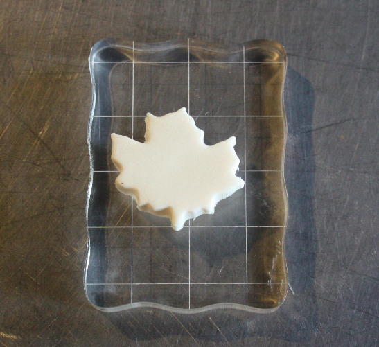 Drying Fondant Leaf