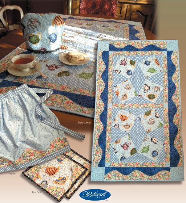 Tea Party Quilt Pieces - on Bluprint