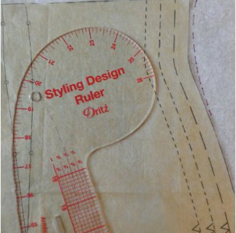 Adding ease to waist of skirt pattern