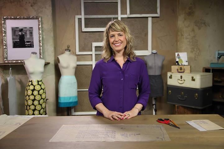 Brett Bara in the Bluprint Sewing Studio