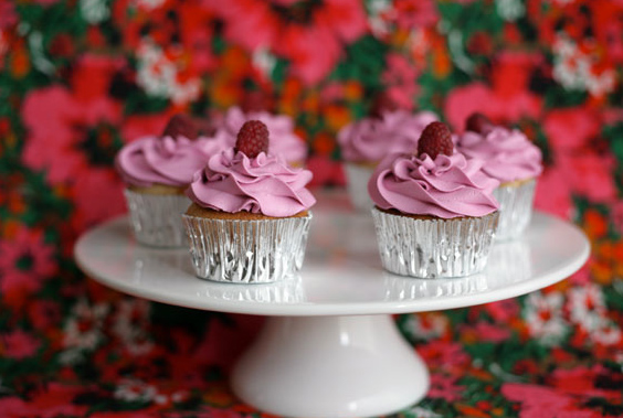 Purple Frosted Cupcakes - Bluprint