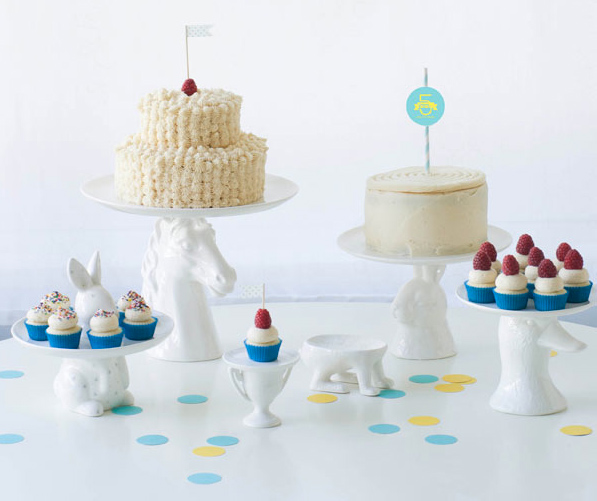 Bright White-Themed Table