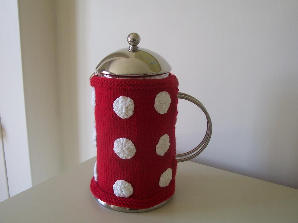 Mug Warmer, a Quick Knitting Project on Bluprint