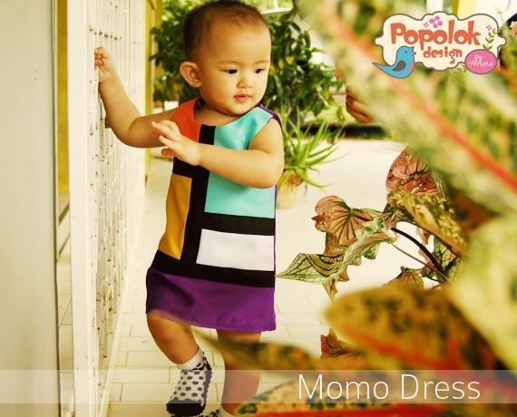 Little Baby in Momo Dress