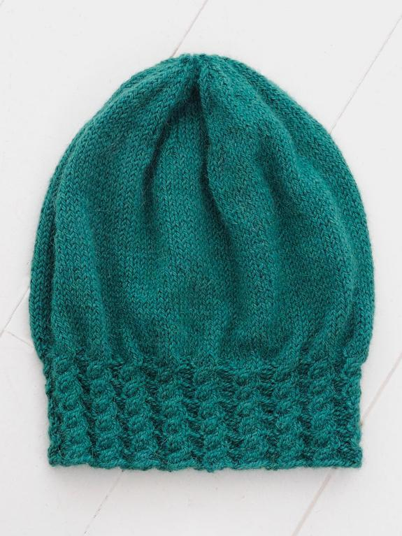 Green Knit Hat