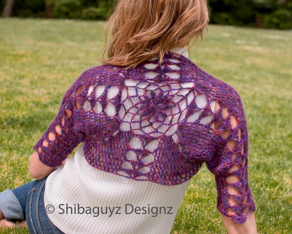 Shrug Shaped as a Chrysanthemum, Member Project on Bluprint