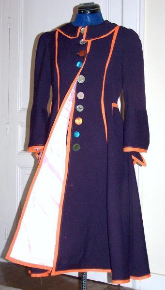 Military-Style Blue Jacket