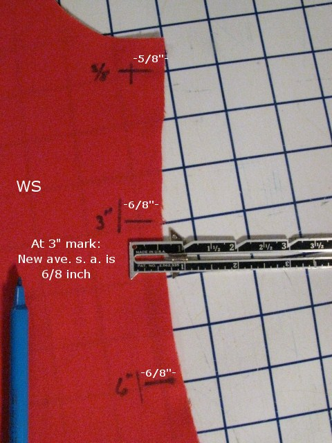 Using a Seam Gauge to Measure Seam