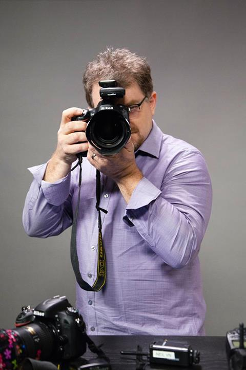 Neil van Niekerk Taking a Photo, on Bluprint