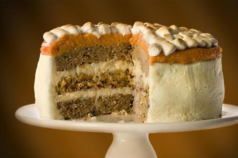Thanksgiving Leftovers Cake, on Bluprint