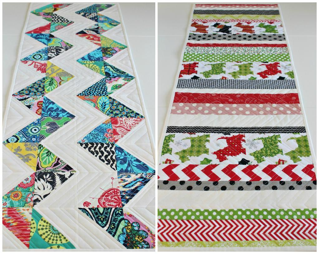 Two Quilted Tablemats