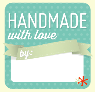 """Handmade with Love"" Gift Tag - on Bluprint"
