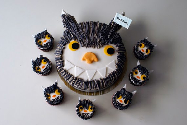 Where the Wild Things Are Themed Cupcakes