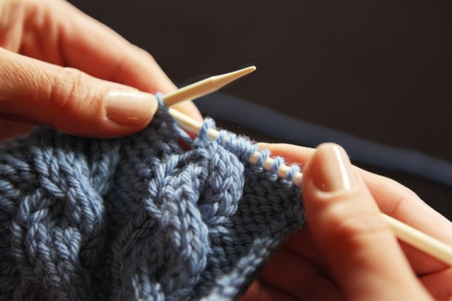 Knitting a Garment - The Health Benefits of Knitting