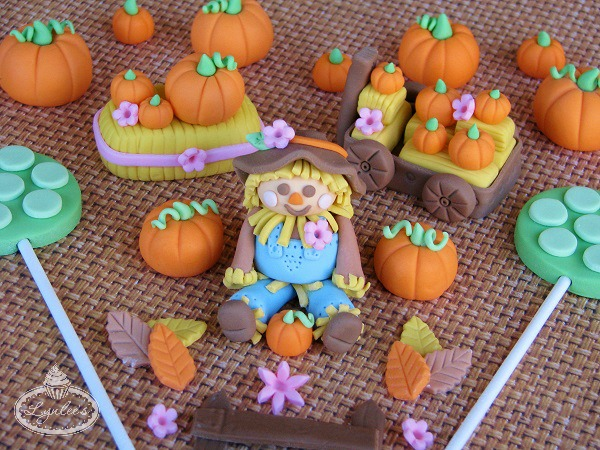 Various Fall-Themed Sweets, on Bluprint