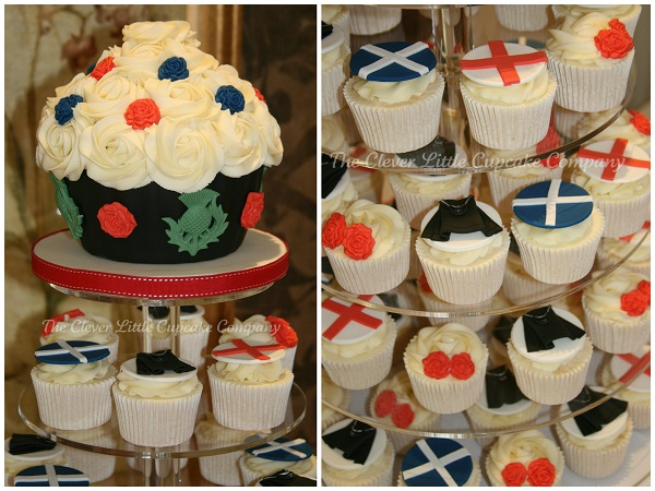 Cupcake Designs from the British Isles