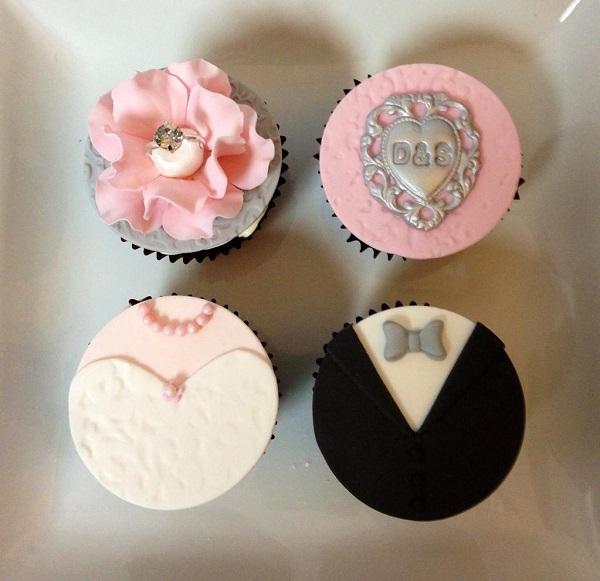 Elegant Western Wedding Cupcakes by Bluprint Member