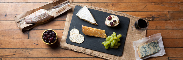 Cheese Board, Glass of Wine - Paring Cheese and Wine
