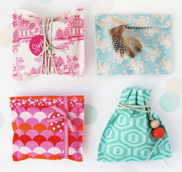 Small Fabric Gift Bags
